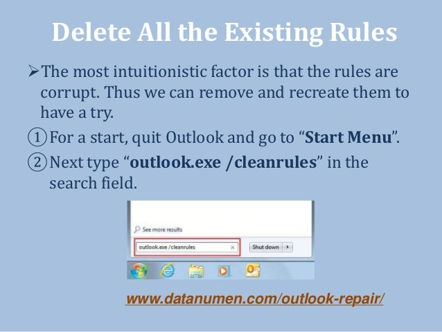 5 Solutions to Fix Error when Outlook Rules Do Not Work