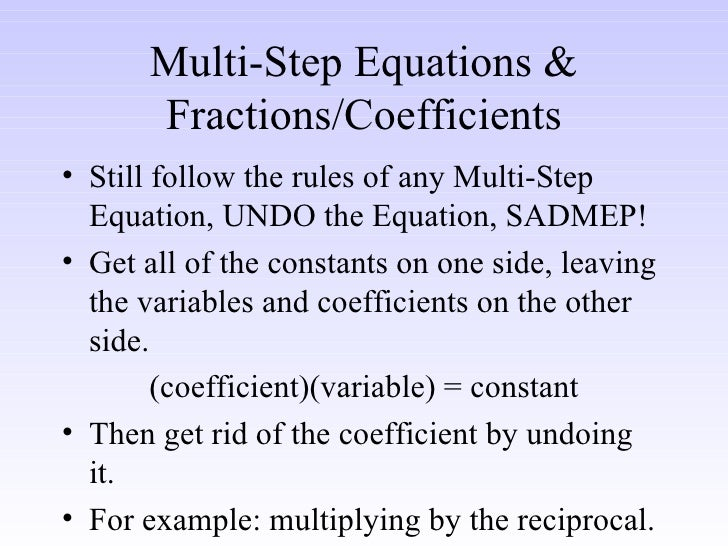 how to solve a multi floor fraction