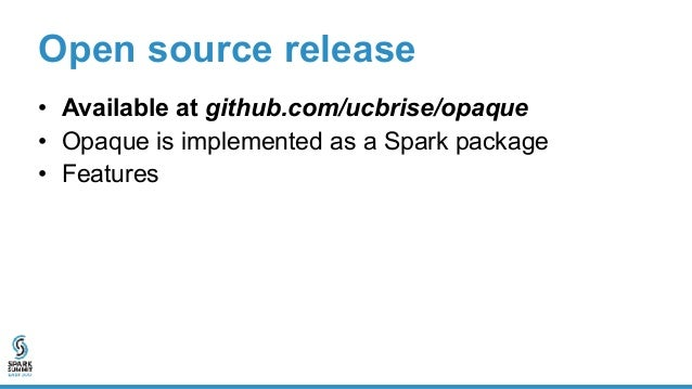 Open source release • Extension