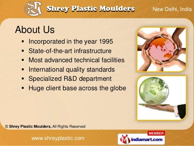 New Delhi, India     About Us            Incorporated in the year 1995            State-of-the-art infrastructure       ...