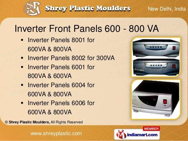 New Delhi, India     Inverter Front Panels 600 - 800 VA          Inverter Panels 8001 for           600VA & 800VA        ...