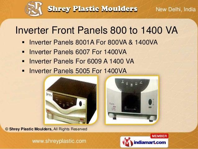 New Delhi, India     Inverter Front Panels 800 to 1400 VA            Inverter Panels 8001A For 800VA & 1400VA           ...
