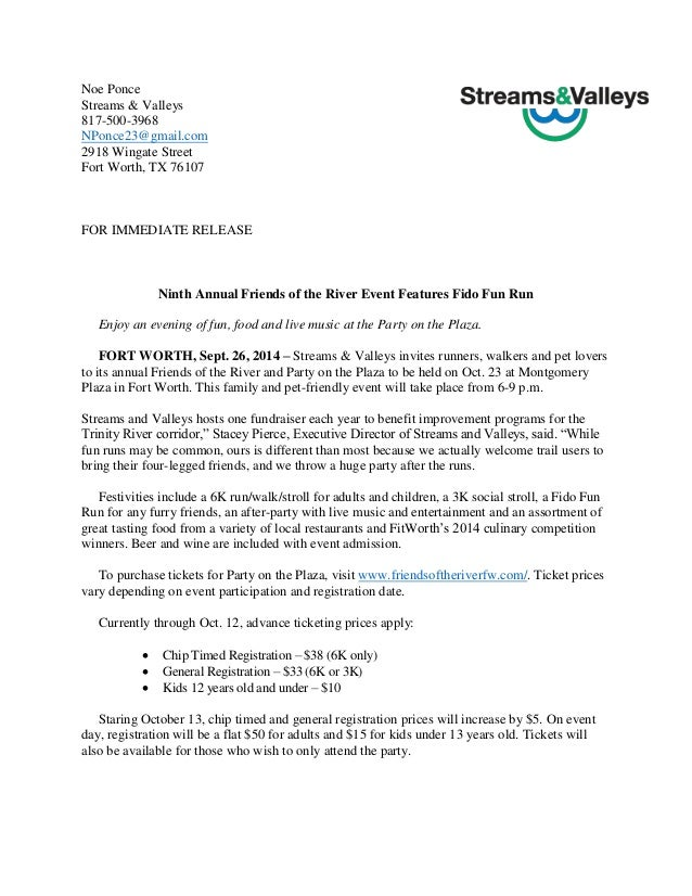 Event press release example press release template for Press release template for event