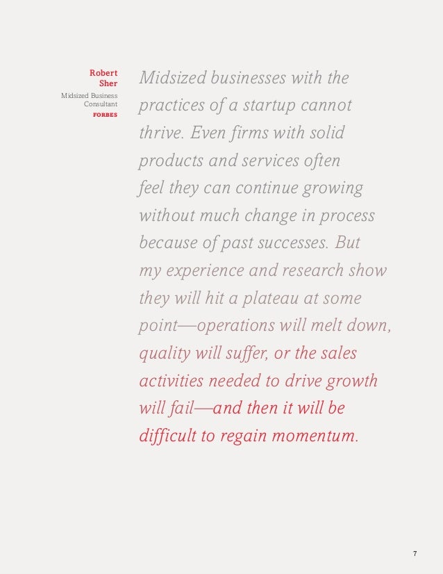 Midsized Business Owner Study 2014