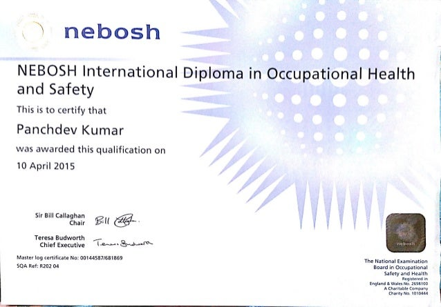 nebosh diploma unit d Nebosh national diploma in occupational health and safety  the nebosh diploma is the leading qualification for uk  • unit b £350 + vat + £82 nebosh fee .