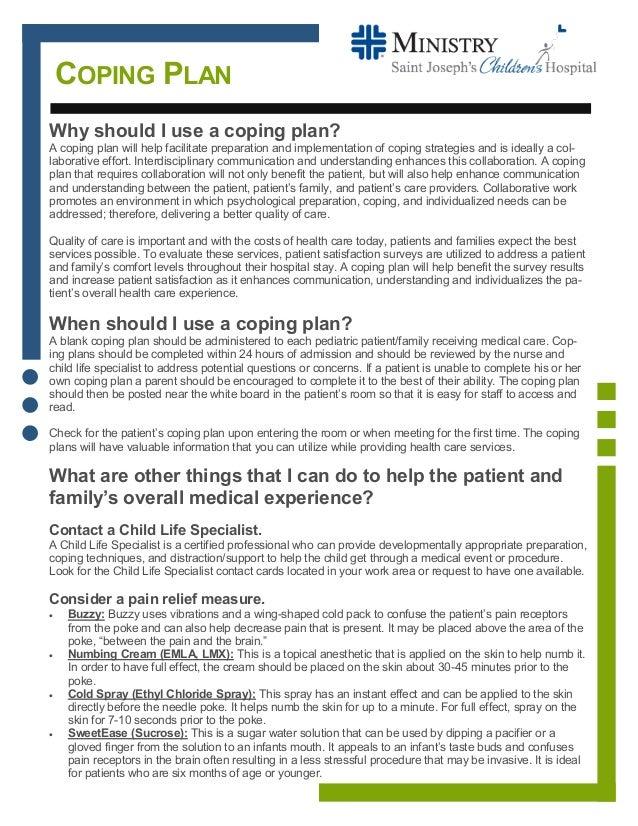 Coping Plan PDF