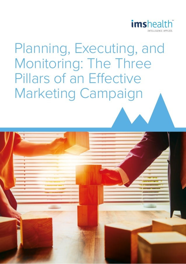 Planning, Executing, and Monitoring: The Three Pillars of an Effective Marketing Campaign