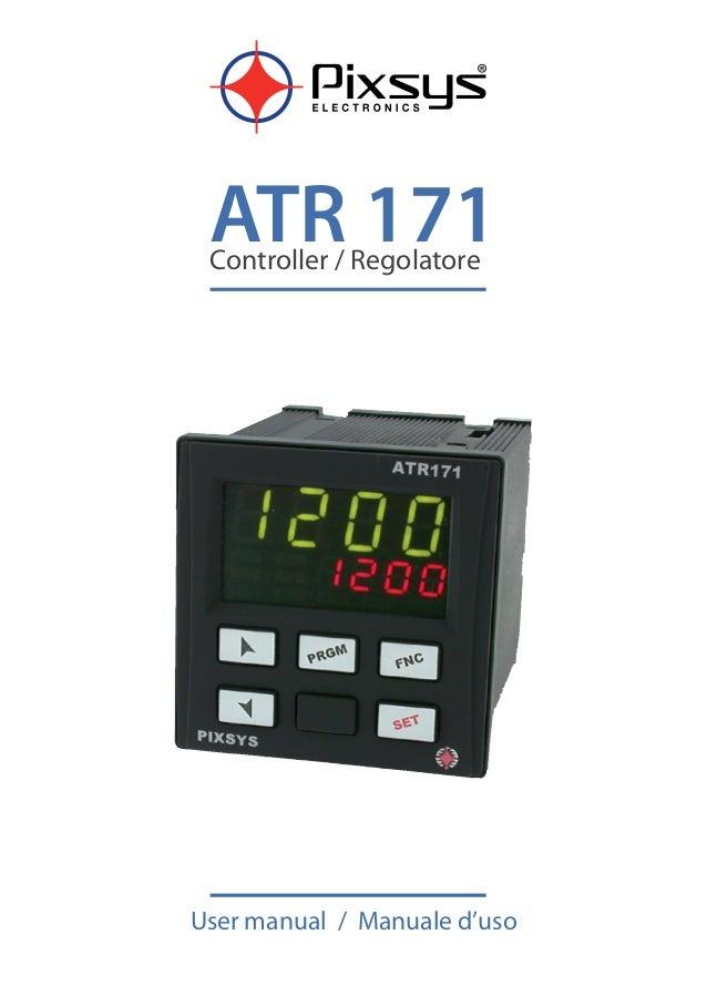 ATR 171Controller / Regolatore User manual / Manuale d'uso