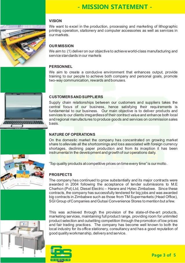 GUBLES  company profile  Slide 3
