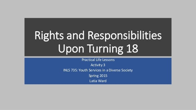 rights and responsibilities of service users The service provider has a duty to make it clear to service users what each of  these rights and responsibilities are this can be done through a service user.