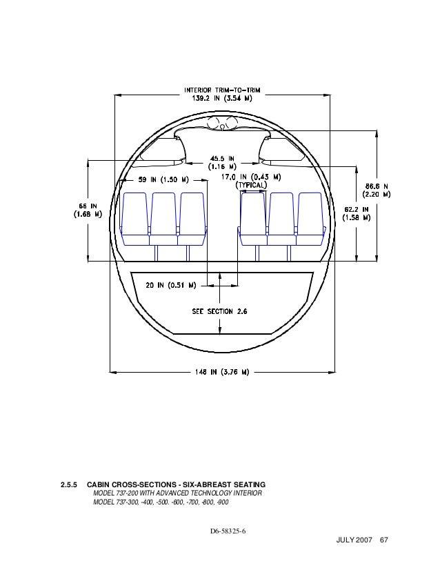 737 Fuselage Diagram