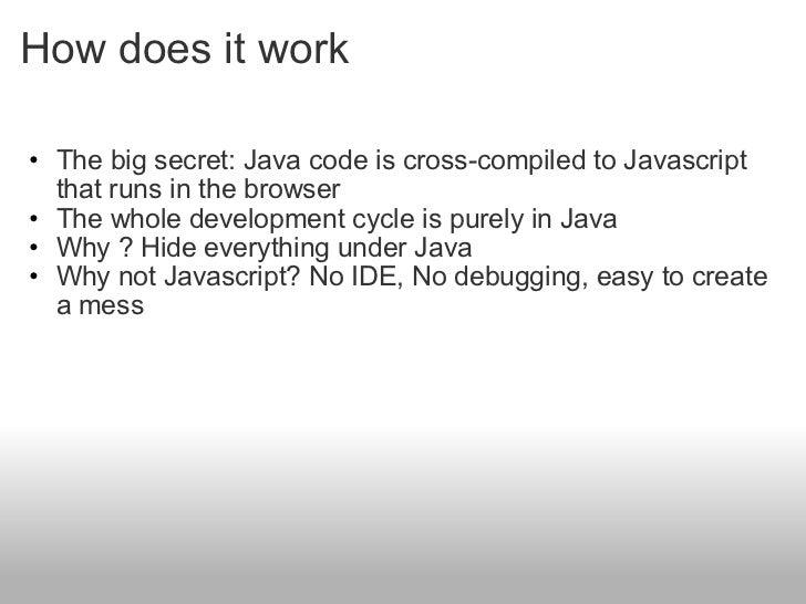 Google Web Toolkit Slide 3