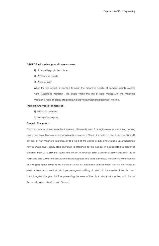 73941338 surveying lab manual 1 rh slideshare net surveying 1 lab manual 3rd sem pdf surveying lab manual 3rd sem vtu