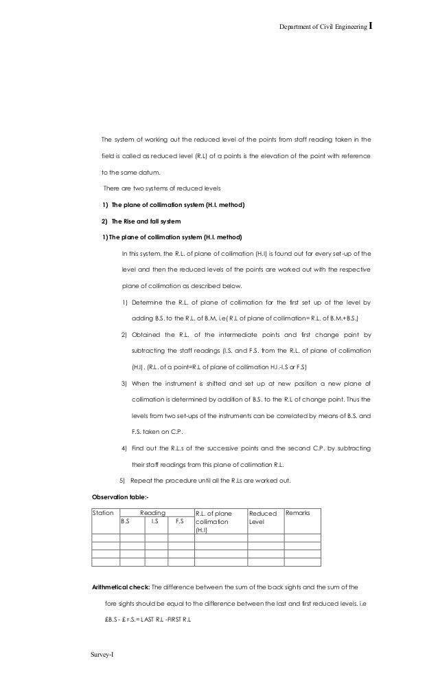 73941338 surveying lab manual 1 rh slideshare net Civil Surveying Table Surveying Equipment