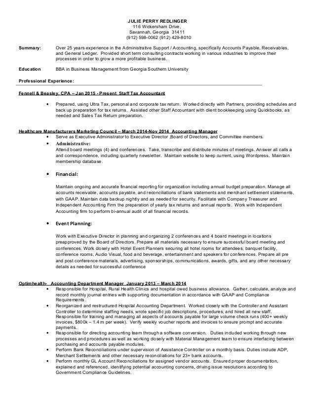 JULIE_PERRY_REDLINGER Resume 8 23 15 (2) (4)