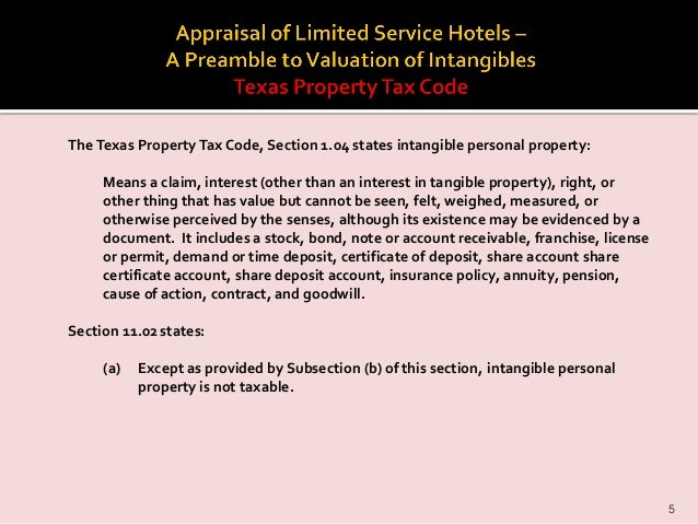 2012 pti conference appraisal of limited service hotels