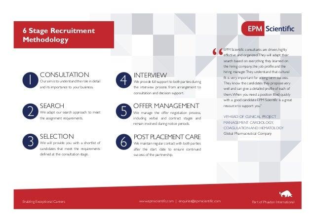 EPM Scientific - Recruitment Process