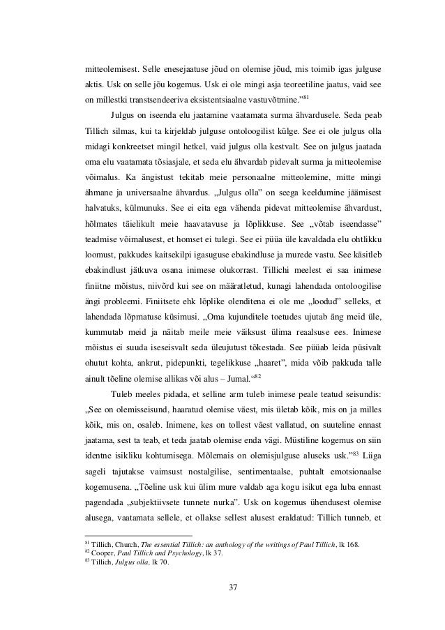 freud and tillich Tillich is concerned to show that the atonement has meaning and promise for  man in the  he accepta the partial insights of freud and nietzsche in this way.