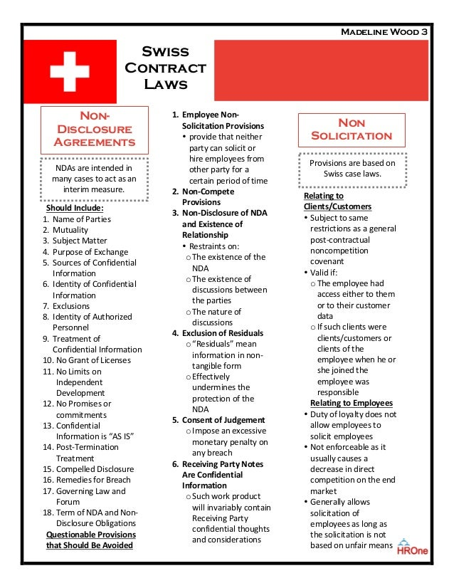 Swiss Contract Law Slide 3