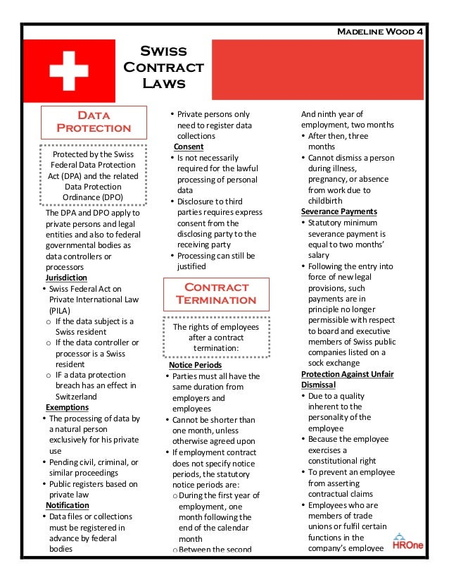 Swiss Contract Law