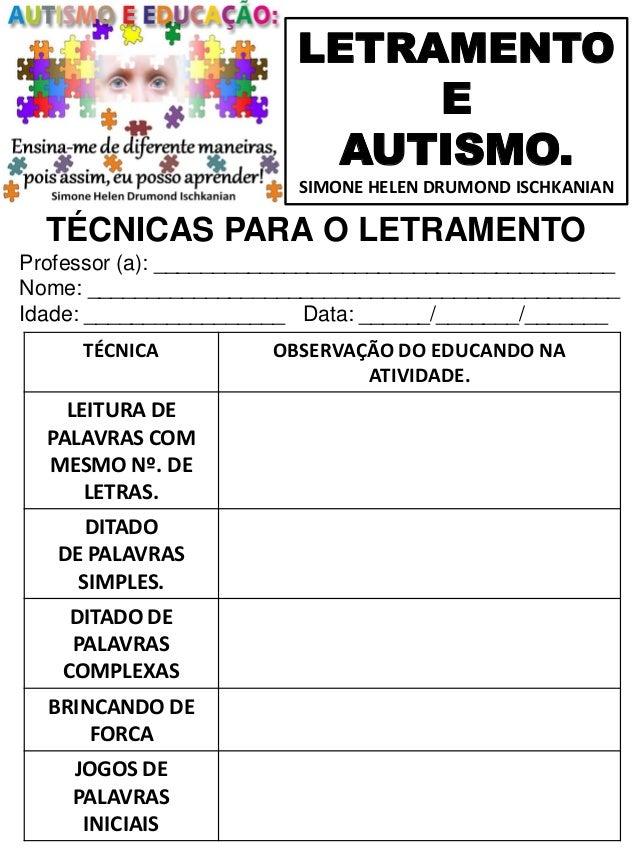 Amado 73 letramento e autismo volume 1 simone helen drumond UJ82