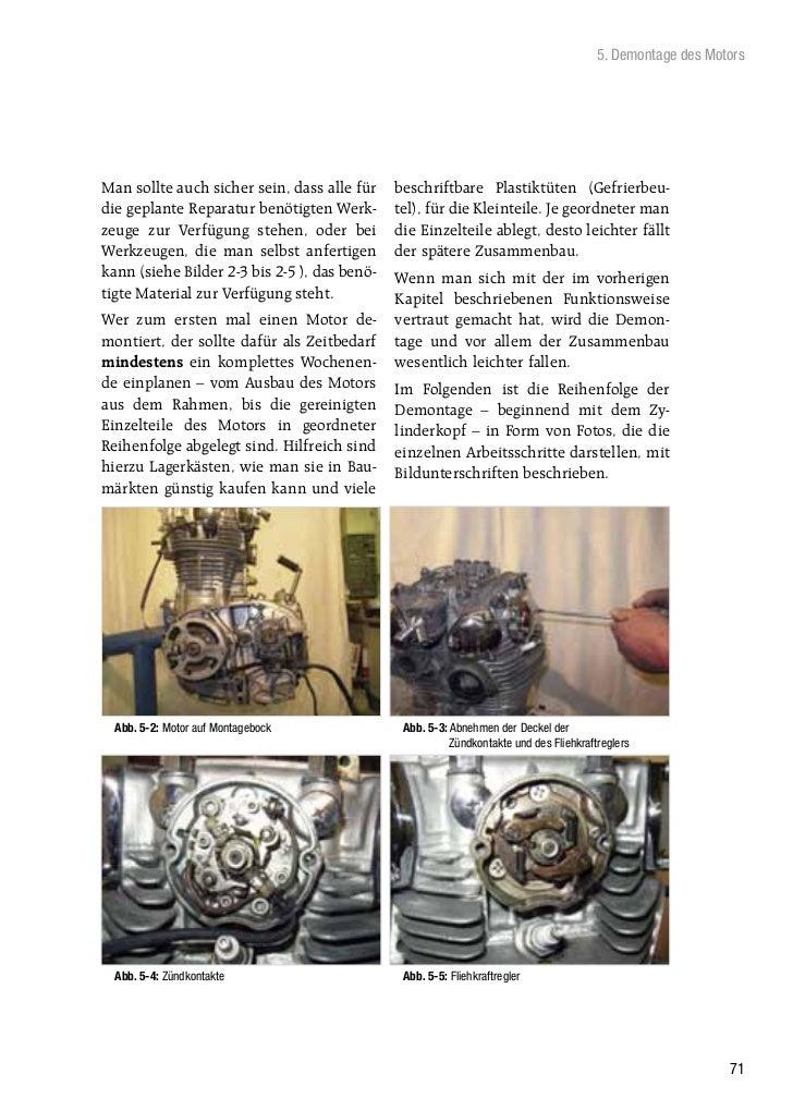 5. Demontage des MotorsMan sollte auch sicher sein, dass alle für    beschriftbare Plastiktüten (Gefrierbeu-die geplante R...