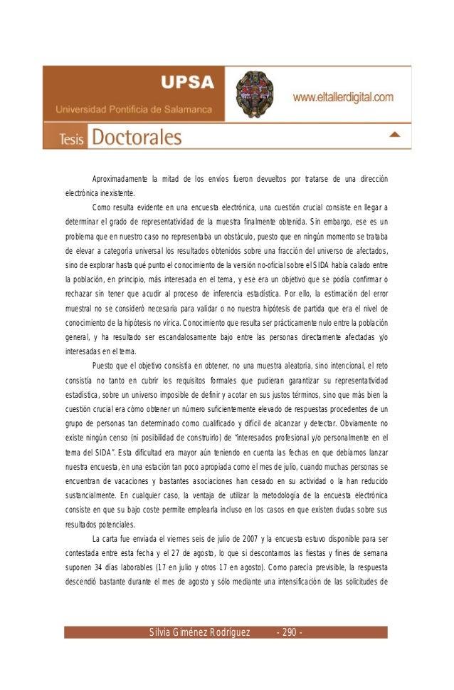 Silvia Giménez Rodríguez - 290 - Aproximadamente la mitad de los envíos fueron devueltos por tratarse de una dirección ele...