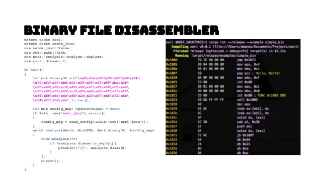 Code Ninja Disassembler