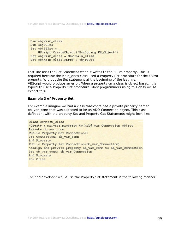 on error resume next vbscript in qtp 28 images syntax of on