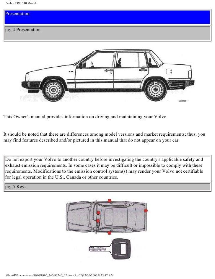 1990 volvo 740 owners manual free user guide u2022 rh globalexpresspackers co Volvo 240 1990 volvo 740 owner's manual
