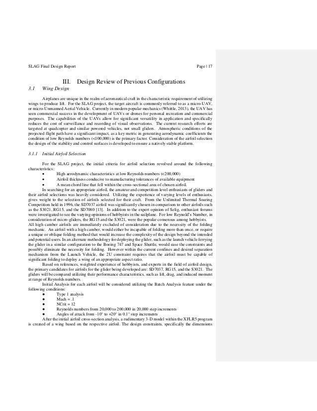 SLAG Final Report
