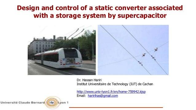 Dr. Hassan Hariri Institut Universitaire de Technology (IUT) de Cachan http://www.univ-lyon1.fr/en/home-759942.kjsp Email:...