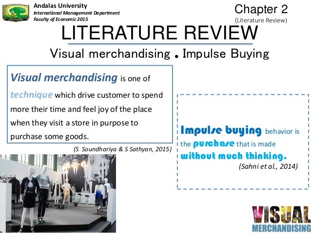 impact of visual merchandising on consumer
