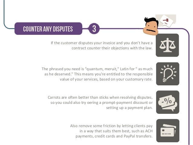 Collecting Late Or Unpaid Invoices - How to collect unpaid invoices