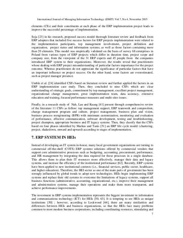 performance management literature review pdf
