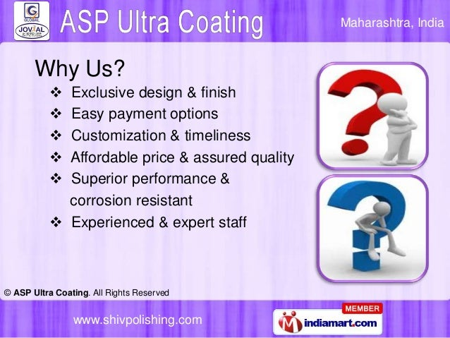 Antique Brass Laquer by ASP Ultra Coating, Pune Slide 3
