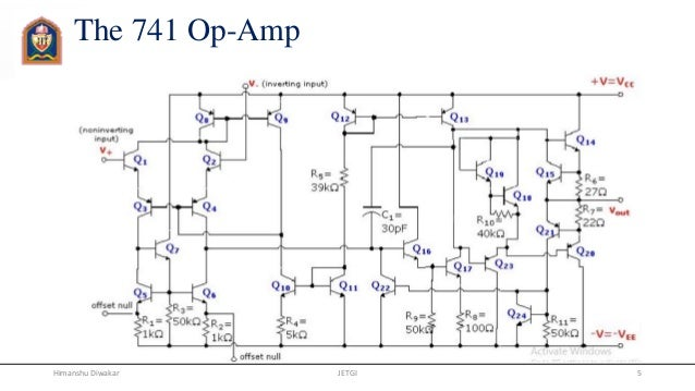 741 Integrated Circuit  Ic