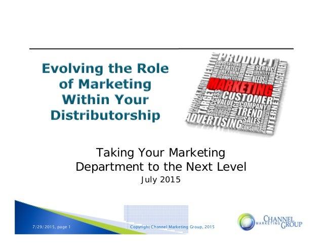 Marketing manager role explained