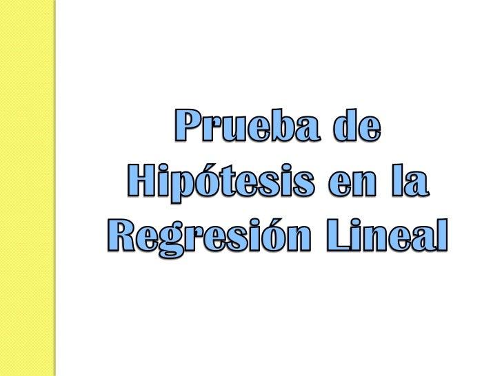 CONCEPTOS BÁSICOS DE UNA PRUEBA          DE HIPÓTESISPlanteamiento de una hipótesis estadística Una hipótesis estadística...