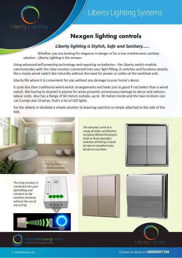 ... lighting controls; 2. & Liberty Lighting Product Brochure pr1 (2) azcodes.com