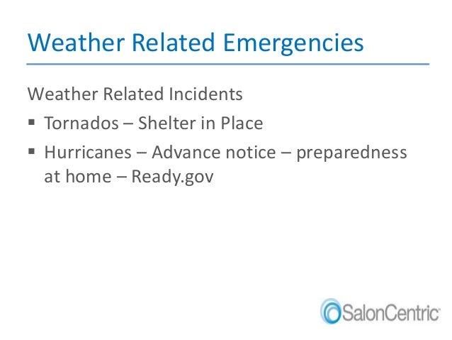 SC Emergency Preparedness Training St Petersburg NOC Employees