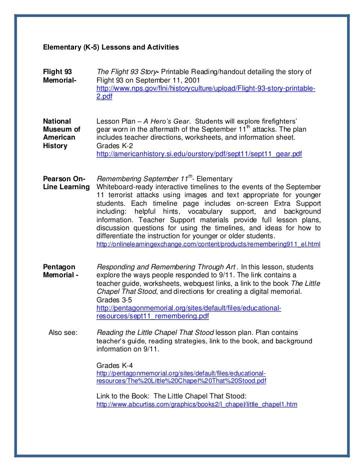 PATRIOT DAY PACKET 2012 – Patriot Day Worksheets