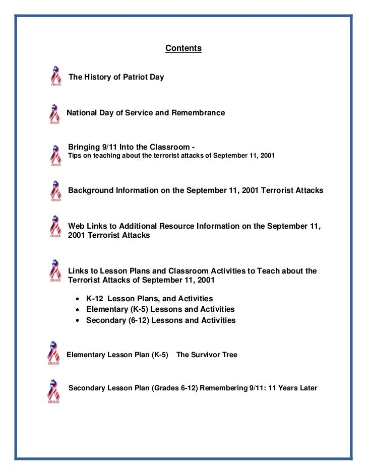 patriot day worksheets - Worksheet
