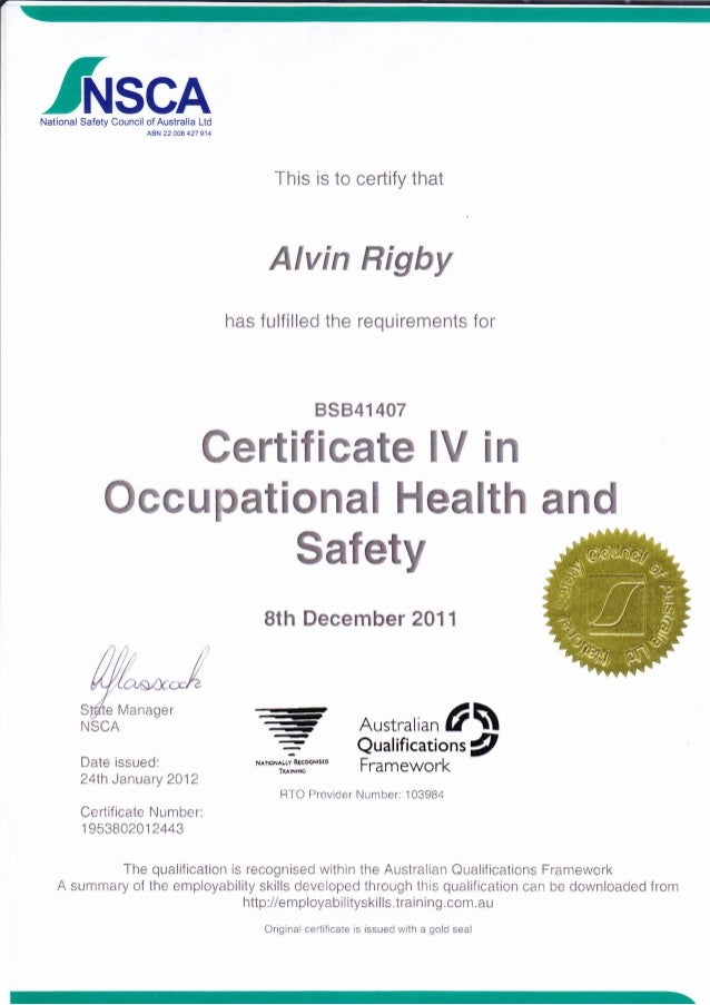 How To Get Food Safety Certificate