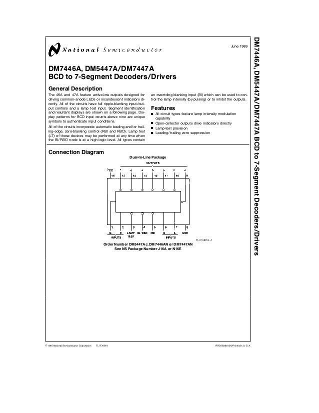 Datasheet lm386n-4 national semiconductor ic amp audio 0. 7 w.
