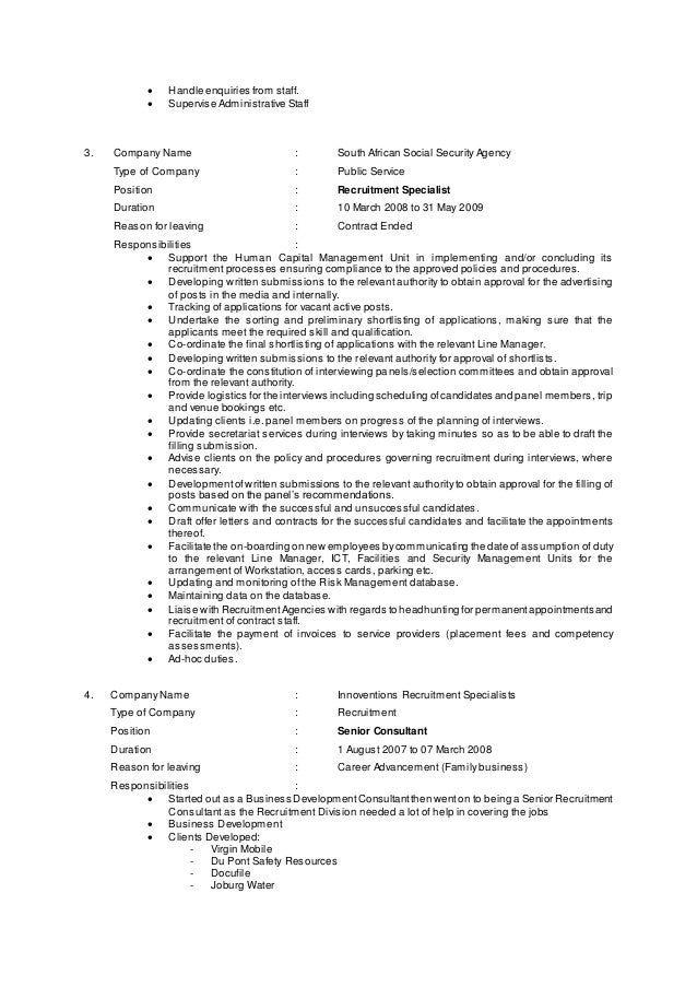 Accounts Payable Specialist Resume | Cover Letter