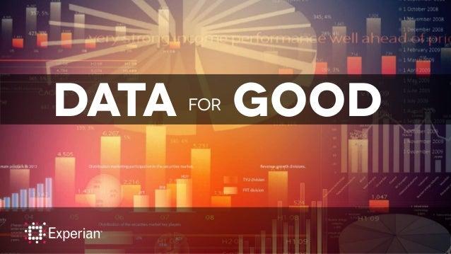 DATA FOR Good