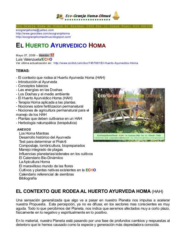 Eco Granja Homa de Olmué Av Eastman 2402 Par 11 Olmué Fono: 033 441356 ecogranjahoma@yahoo.com http://www.geocities.com/ec...