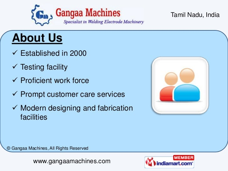 Welding Electrode Plant and Machinery by Gangaa Machines Coimbatore Slide 2