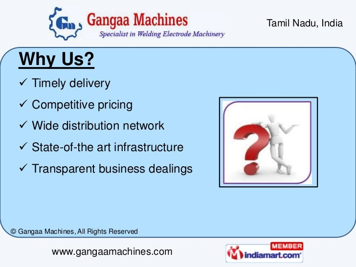 Welding Electrode Plant and Machinery by Gangaa Machines Coimbatore Slide 3